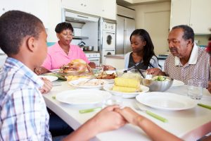 Eating Together: The Importance of Family Dinners