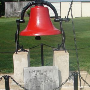 red bell at Free Will Baptist Children's Home