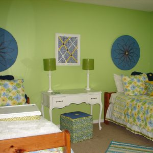 cozy group home bedroom