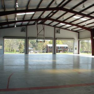 covered basketball court at Free Will Baptist Children's Home