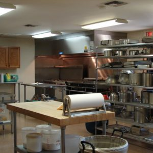 Free Will Baptist Children's Home industrial size kitchen