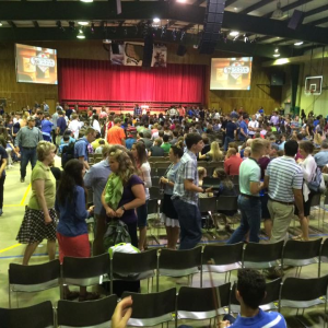 auditorium at Alabama Free Will Baptist Children's Home