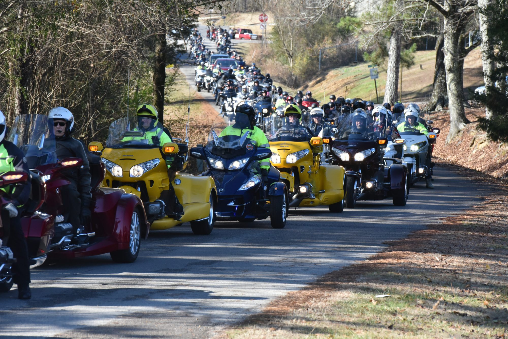The Eldridge Toy Run